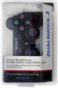 Джойстик для PS3 Dualshock 3 (Черный) - PS4, Xbox One, PS 3, PS Vita, Xbox 360, PSP, 3DS, PS2, Move, KINECT, Обмен игр и др.