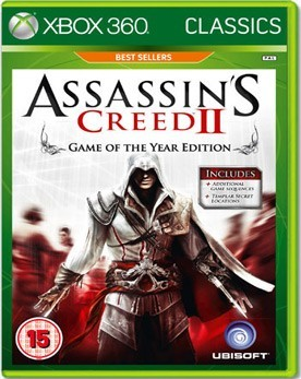 Assassin's Creed 2 Game of The Year (Xbox 360) - PS4, Xbox One, PS 3, PS Vita, Xbox 360, PSP, 3DS, PS2, Move, KINECT, Обмен игр и др.