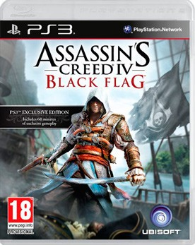 Assassin's Creed 4: Black Flag (Assassin's Creed 4: Чёрный флаг) (PS3) - PS4, Xbox One, PS 3, PS Vita, Xbox 360, PSP, 3DS, PS2, Move, KINECT, Обмен игр и др.