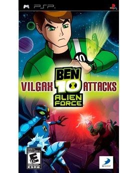 Ben 10: Alien Force - Vilgax Attacks (PSP) - PS4, Xbox One, PS 3, PS Vita, Xbox 360, PSP, 3DS, PS2, Move, KINECT, Обмен игр и др.