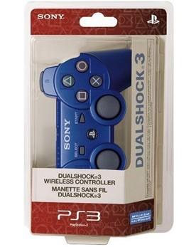 Джойстик для PS3 Dualshock 3 (Синий) - PS4, Xbox One, PS 3, PS Vita, Xbox 360, PSP, 3DS, PS2, Move, KINECT, Обмен игр и др.