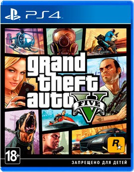 Grand Theft Auto V (GTA 5) (PS4) - PS4, Xbox One, PS 3, PS Vita, Xbox 360, PSP, 3DS, PS2, Move, KINECT, Обмен игр и др.