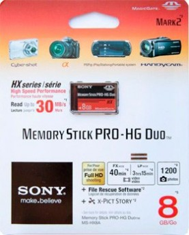 Карта памяти Sony Memory Stick Pro Duo 8Gb - PS4, Xbox One, PS 3, PS Vita, Xbox 360, PSP, 3DS, PS2, Move, KINECT, Обмен игр и др.