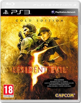 Resident Evil 5 Gold (с поддержкой PS Move) (PS3) - PS4, Xbox One, PS 3, PS Vita, Xbox 360, PSP, 3DS, PS2, Move, KINECT, Обмен игр и др.