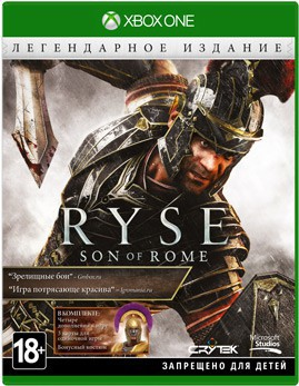 Ryse: Son of Rome. Legendary Edition (Xbox One) - PS4, Xbox One, PS 3, PS Vita, Xbox 360, PSP, 3DS, PS2, Move, KINECT, Обмен игр и др.