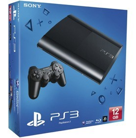 Игровая Приставка Sony PlayStation 3 Super Slim (12 Gb) - PS4, Xbox One, PS 3, PS Vita, Xbox 360, PSP, 3DS, PS2, Move, KINECT, Обмен игр и др.