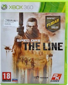 Spec Ops: The Line (Xbox 360) - PS4, Xbox One, PS 3, PS Vita, Xbox 360, PSP, 3DS, PS2, Move, KINECT, Обмен игр и др.