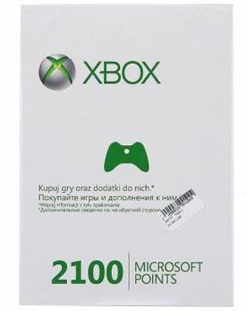 Xbox LIVE: карта оплаты 2100 очков (Xbox 360) - PS4, Xbox One, PS 3, PS Vita, Xbox 360, PSP, 3DS, PS2, Move, KINECT, Обмен игр и др.