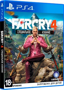 Far Cry 4 (PS4) - PS4, Xbox One, PS 3, PS Vita, Xbox 360, PSP, 3DS, PS2, Move, KINECT, Обмен игр и др.